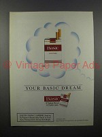 1995 Basic Cigarette Ad - Your Basic Dream
