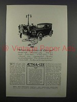 1925 Aetna Life Insurance Ad - Who's the Driver?