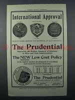 1908 Prudential Insurance Ad - International Approval