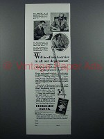 1929 Eberhard Faber Pencil Ad - Of Much Service