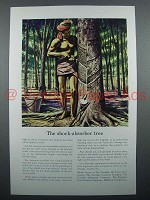 1940 Travelers Insurance Ad - The Shock-Absorber Tree