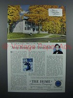 1952 The Home Insurance Ad - Franklin A. Pierce House