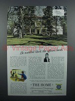 1953 The Home Insurance Ad - Hermitage, Andrew Jackson