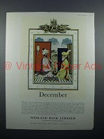 1958 Midland Bank Limited Ad - December