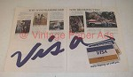 1977 BankAmericard VISA Credit Card Ad - Now Becoming