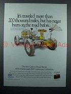 1996 Discover Credit Card Ad - Lunar Rover