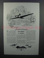 1943 Martin Aircraft Ad - Tomorrow the World is Yours