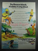 1977 BWIA Airways Ad - The Pleasure Islands