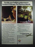 1977 BWIA Airways Ad - Double Your Enjoyment