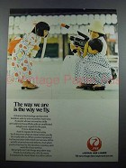 1978 JAL Air Lines Ad