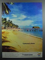 1979 BWIA Airways Ad - Castaway's Choice