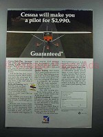 1982 Cessna Airplane Ad - Make You a Pilot for $2990