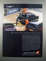 1997 Virgin Atlantic Airline Ad - Non-Stop Check-in