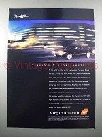 1997 Virgin Atlantic Airline Ad - Airport Shuttle
