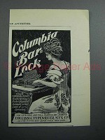 1897 Columbia Bar Lock Typewriter Ad
