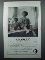 1923 Graflex Camera Ad - Girl with Doll