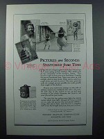 1927 Graflex Series B Camera Ad - Snatched from Time
