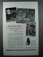 1927 Graflex Series B Camera Ad - Globe-Trotting