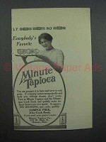 1913 Minute Tapioca Ad - Everybody's Favorite