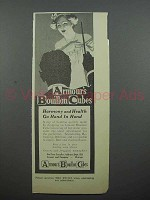 1913 Armour's Bouillon Cubes Ad - Harmony and Health