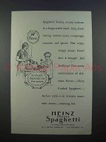 1927 Heinz Cooked Spaghetti Ad - The Sauce