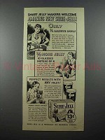 1936 Sure-Jell Pecitn Ad - Smart Jelly Makers Welcome