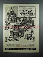 1937 Del Monte Foods Ad - Pantry Parade