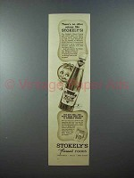 1937 Stokely's Catsup Ad - There's no Other Like