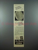 1938 Del Monte Corn Ad - Never Better