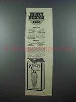 1939 Argo Corn Starch Ad - Breakfast Suggestions