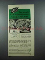 1940 Green Giant Niblets Corn Ad - Spruce up Turkey