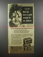 1940 Nabisco Honey Maid Graham Crackers Ad