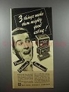 1940 Nabisco Snow Flake Sodas Cracker Ad - Mighty Good