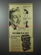 1940 Nabisco Snow Flake Sodas Crackers Ad - Outstanding