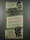 1941 Nabisco Honey Maid Graham Crackers Ad - A Bowl