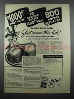 1941 Libby's Corned Beef Hash Ad - Uncle Sam