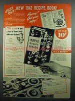 1942 Royal Gelatin & Pudding Ad - Just Out!