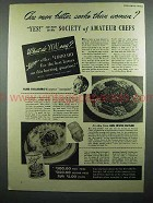 1942 Libby's Corned Beef Hash Ad - Men Better Cooks