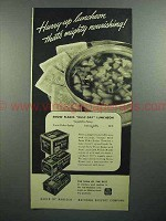 1943 Nabisco Snow Flake Sodas Crackers Ad - Hurry-Up