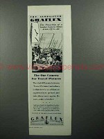 1929 Graflex Camera Ad - For Travel Pictures