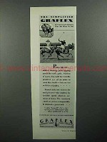 1929 Graflex Camera Ad - Polo