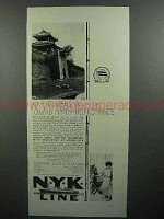 1930 NYK Line Cruise Ad - Adventurers All