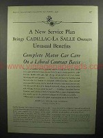 1930 Cadillac, La Salle Car Ad - Unusual Benefits