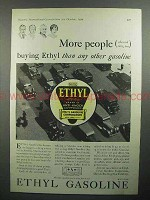 1930 Ethyl Gasoline Ad - More People Buying