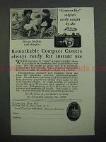 1930 Leica Camera Ad - Navajo Children With Pets