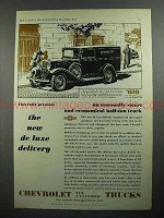 1931 Chevrolet Six Half-Ton Truck Ad - Unusually Smart