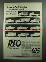 1931 REO Trucks Ad - Of All Trades