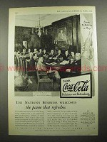 1931 Coca-Cola Soda Ad - Nation's Business Welcomes