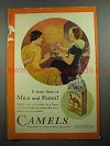1931 Camels Cigarettes Ad - Mild and Fresh