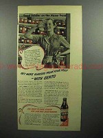 1945 Certo Pectin Ad - Get More Glasses From Fruit